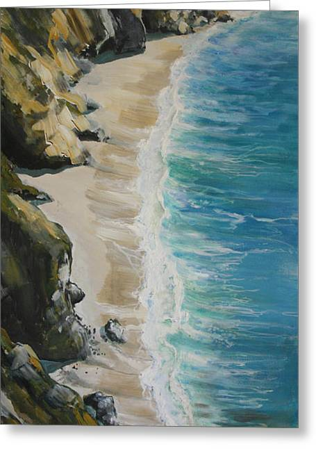 Big Sur Feeling Greeting Card by Gregory Peters