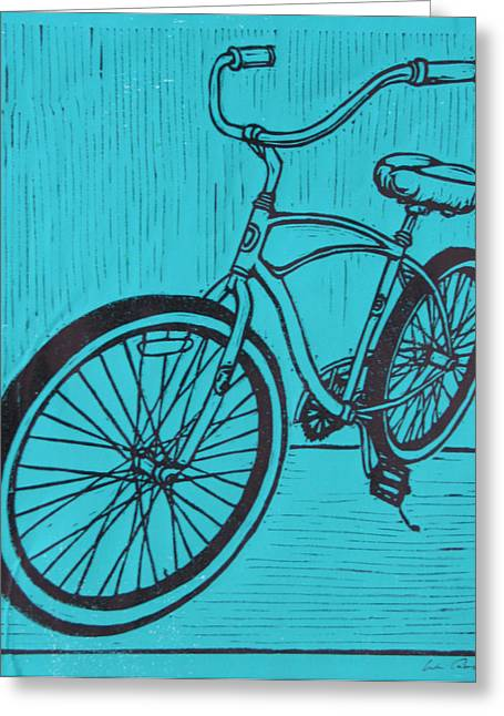 Ten Speed Greeting Cards - Bike 6 Greeting Card by William Cauthern