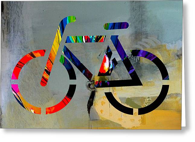 Travels Greeting Cards - Bike Greeting Card by Marvin Blaine