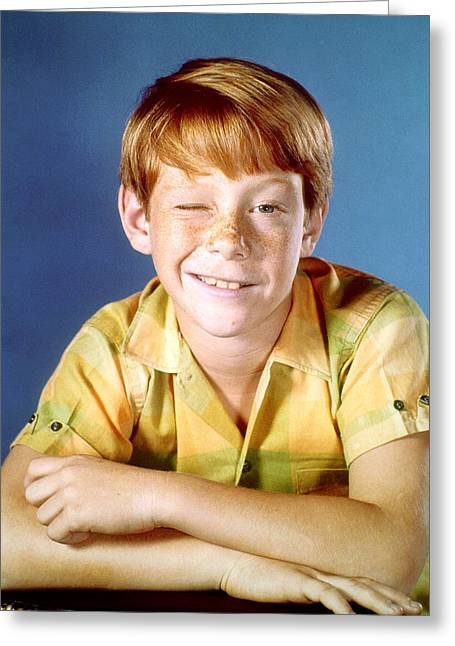 Lose Greeting Cards - Bill Mumy in Lost in Space  Greeting Card by Silver Screen