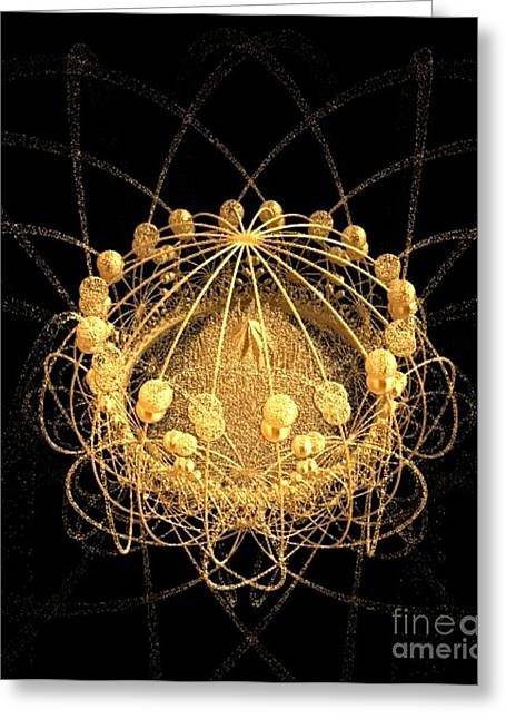 Gold Buyer Greeting Cards - Bird in a Gilded Cage Greeting Card by Gail Matthews