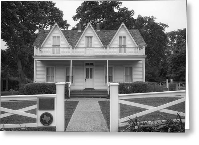 Dwight D. Eisenhower Greeting Cards - Birth Home of Dwight D Eisenhower - Denison Texas Greeting Card by Mountain Dreams