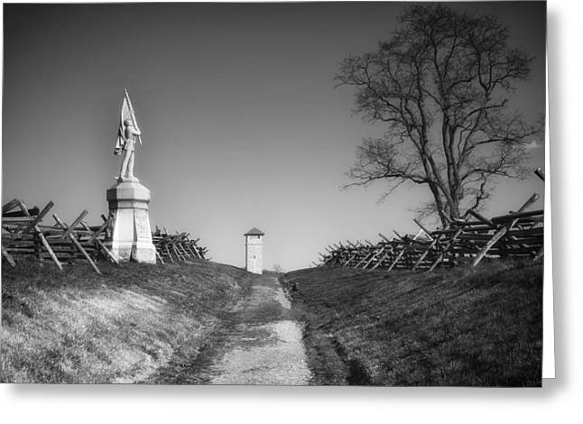 Against The War Greeting Cards - Bloody lane - Antietam Battlefield Greeting Card by Mountain Dreams