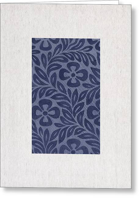 Art Decor Greeting Cards - Blue Flowers Greeting Card by Aged Pixel