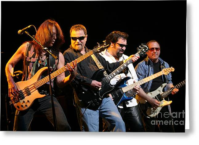 Rudy Greeting Cards - Blue Oyster Cult Greeting Card by Front Row  Photographs