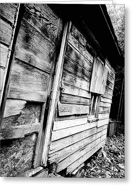 Beautiful Scenery Greeting Cards - Boarded Doors and Windows Greeting Card by Anthony Ackerman