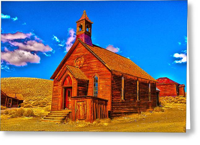 Bodie Out House Greeting Cards - Bodie 20 Greeting Card by Richard J Cassato