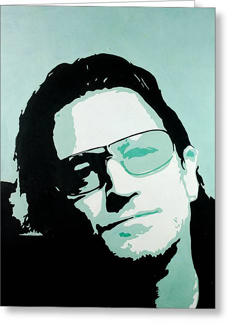 Naturalistic Greeting Cards - Bono Greeting Card by Ivan Guaderrama