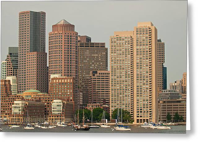 Boston Ma Greeting Cards - Boston Greeting Card by Paul Mangold