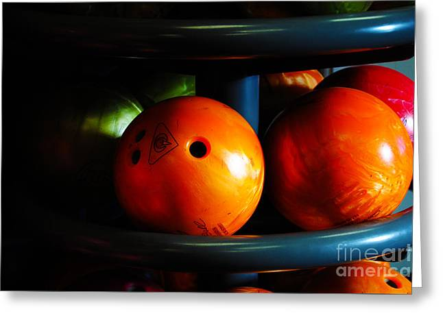 Fort Rucker Greeting Cards - Bowling Balls Greeting Card by Jay Mann