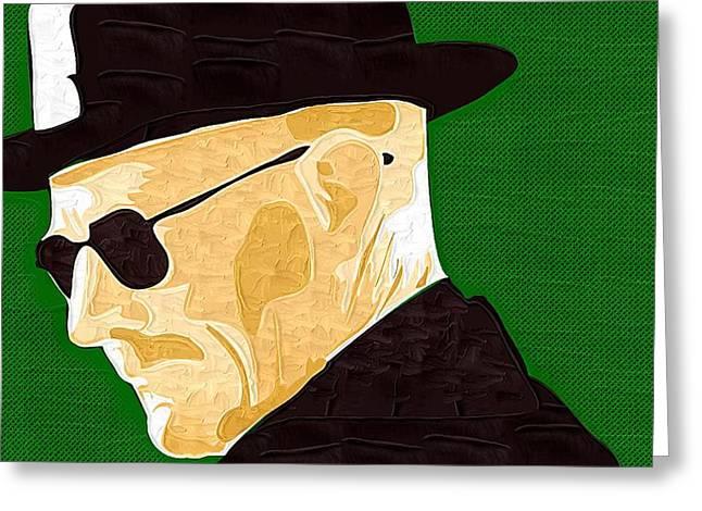 Breaking Bad Art Greeting Cards - Breaking Bad Walter Greeting Card by Victor Gladkiy