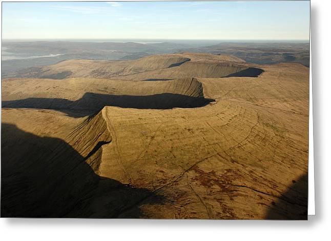 Brecon Beacons Greeting Cards - Brecon Beacons National Park, Wales Greeting Card by Steve Brockett
