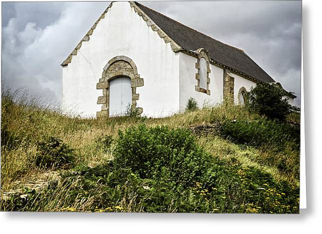 Breton church Greeting Card by Elena Elisseeva