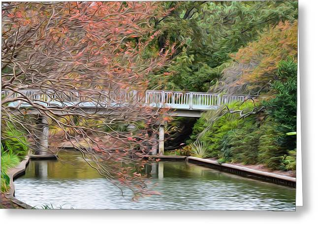 Culture Greeting Cards - Bridge Greeting Card by Lanjee Chee