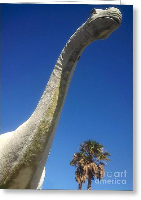 Brontosaurus Greeting Card by Gregory Dyer