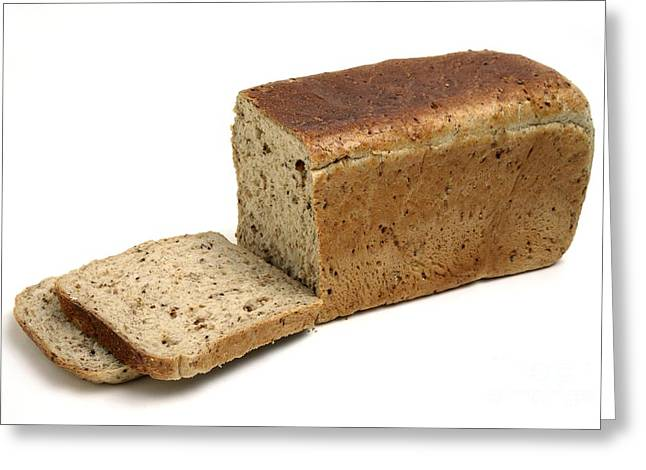 Wholewheat Greeting Cards - Brown Bread Greeting Card by Victor de Schwanberg