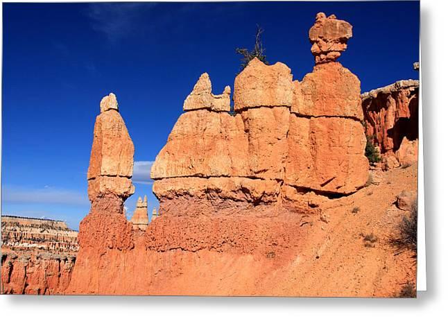 Moran Greeting Cards - Bryce Canyon Greeting Card by Aidan Moran