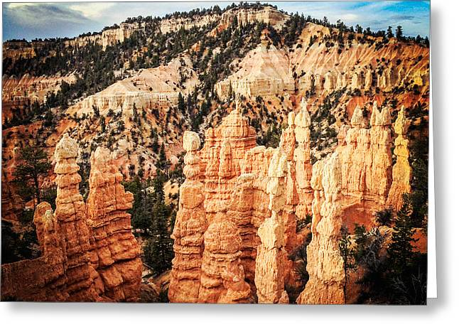 """""""bryce Canyon"""" Greeting Cards - Bryce Canyon Greeting Card by Colin and Linda McKie"""