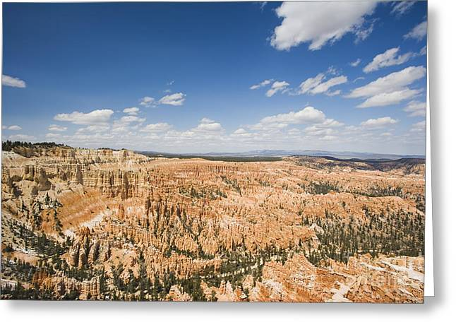 Mountain Valley Greeting Cards - Bryce Canyon National Park Greeting Card by David Davis
