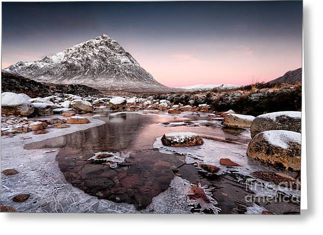 Scotland Landscapes Greeting Cards - Buachaille Etive Mor Greeting Card by John Farnan