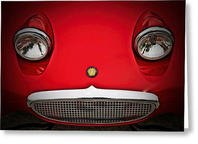 English Car Greeting Cards - Bug Eyed Sprite Greeting Card by Douglas Pittman