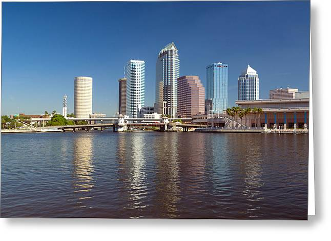 Buildings At The Waterfront, Tampa Greeting Card by Panoramic Images