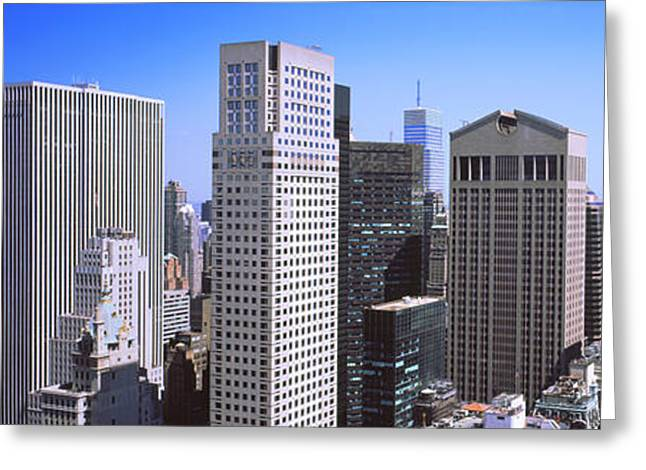 Midtown Greeting Cards - Buildings In A City, Midtown Greeting Card by Panoramic Images