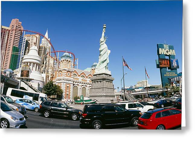 Mgm Greeting Cards - Buildings In A City, New York New York Greeting Card by Panoramic Images