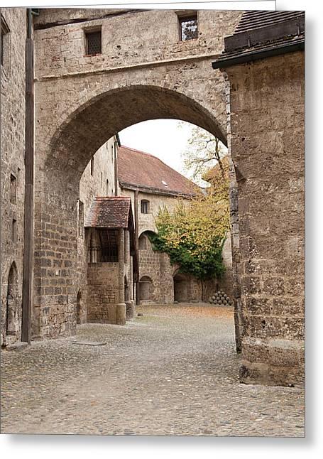Burghausen Castle Burghausen, Germany Greeting Card by Michael Defreitas