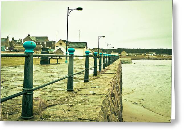 Recession Greeting Cards - Burghead  Greeting Card by Tom Gowanlock