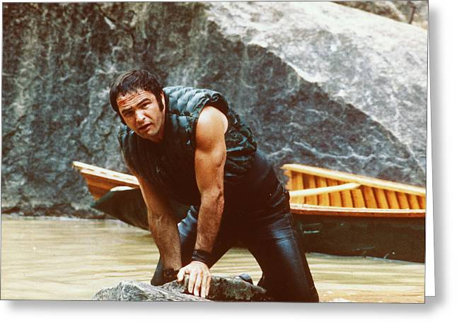Burt Reynolds Greeting Cards - Burt Reynolds in Deliverance  Greeting Card by Silver Screen