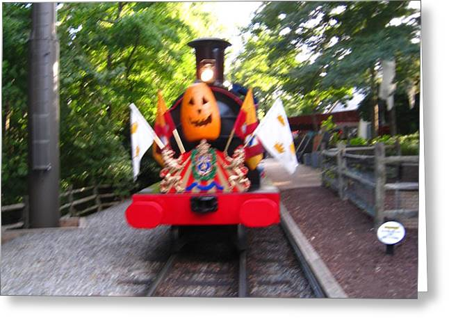 Busch Gardens - 121213 Greeting Card by DC Photographer
