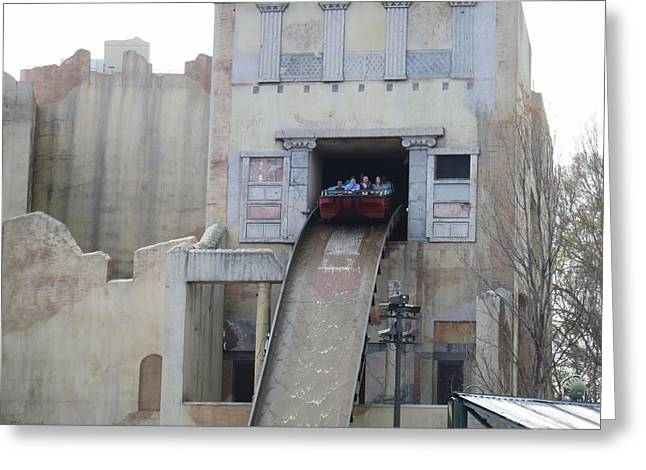 Va Greeting Cards - Busch Gardens - 121214 Greeting Card by DC Photographer