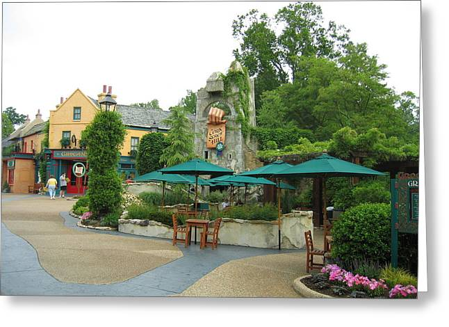 Williamsburg Greeting Cards - Busch Gardens - 121216 Greeting Card by DC Photographer