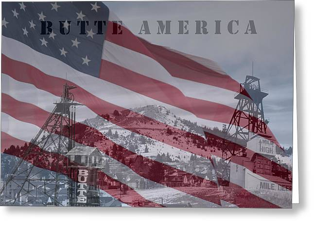 Butte America Greeting Card by Kevin Bone