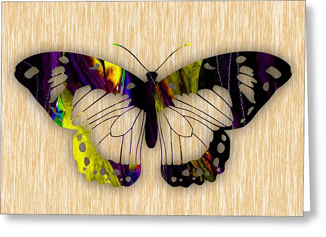 Butterflies Greeting Cards - Butterfly Painting Greeting Card by Marvin Blaine