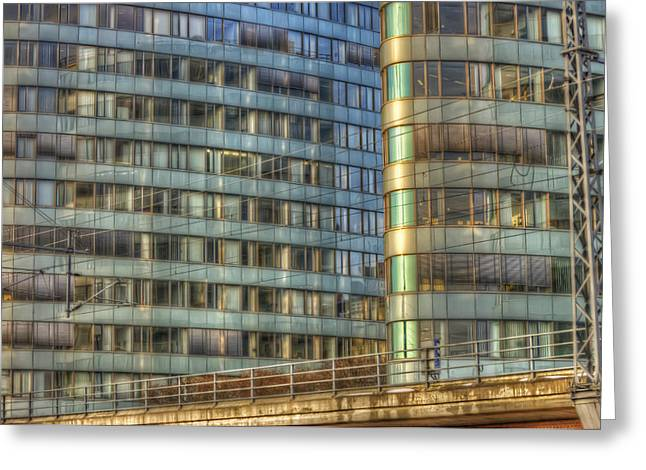 Big Chill Greeting Cards - BVG building Greeting Card by Nathan Wright