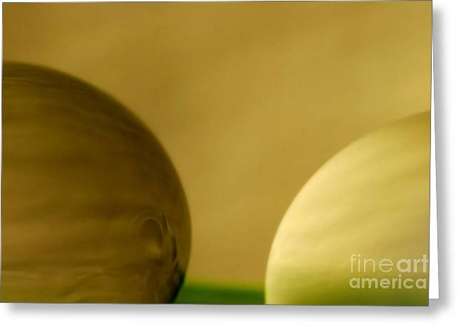 Macro Greeting Cards - C Ribet Orbscape 0248 Greeting Card by C Ribet