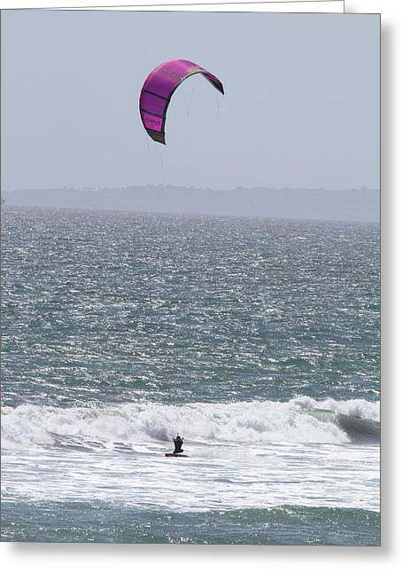 Skies Greeting Cards - CA Beach - 12124 Greeting Card by DC Photographer
