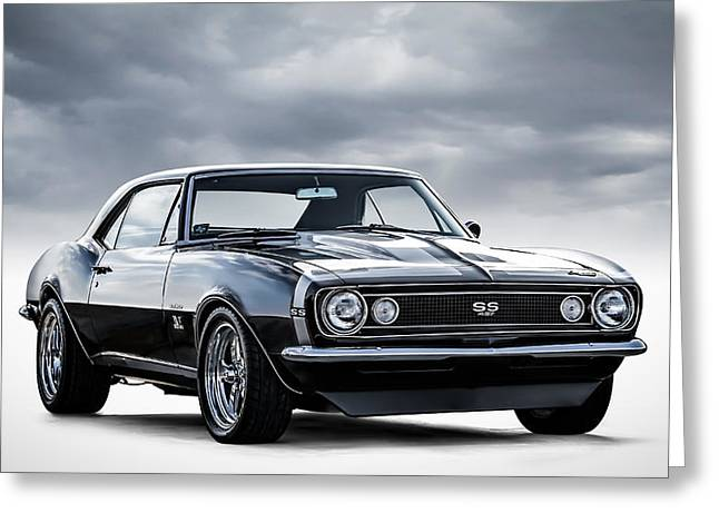 Chevrolet Greeting Cards - Camaro SS Greeting Card by Douglas Pittman