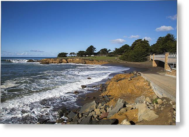 Cambria Greeting Cards - Cambria Leffingwell Landing Greeting Card by Jose M Beltran