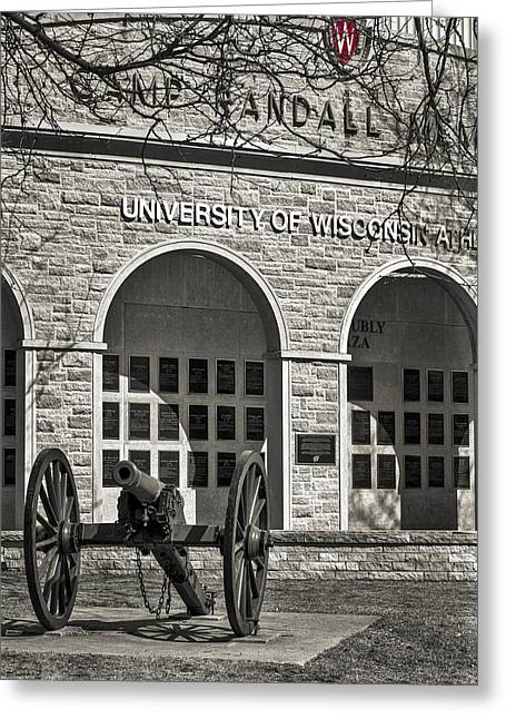 Basketballs Greeting Cards - Camp Randall - Madison Greeting Card by Steven Ralser