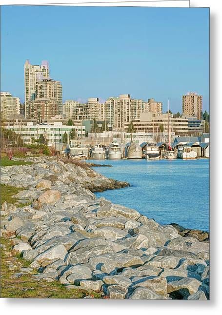 Canada, Bc, Vancouver, North Vancouver Greeting Card by Rob Tilley