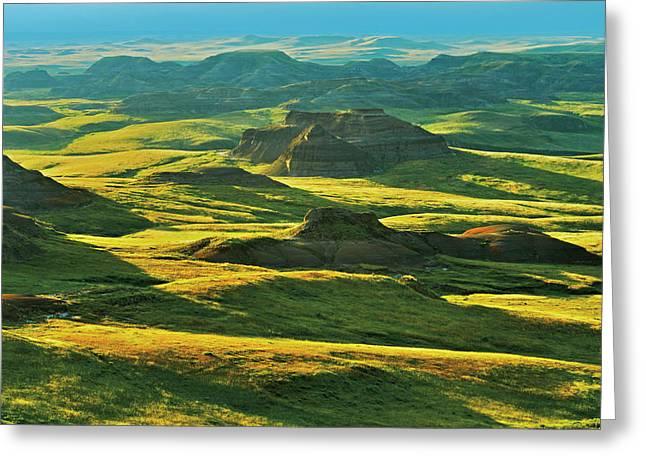 Canada, Saskatchewan, Grasslands Greeting Card by Jaynes Gallery