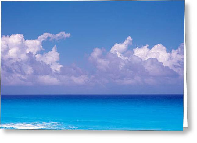 Cancun Mexico Greeting Card by Panoramic Images