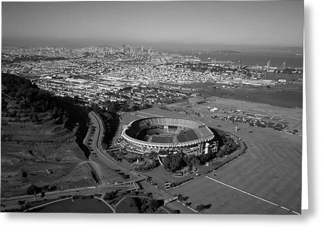 Downtown San Francisco Greeting Cards - Candlestick Park Greeting Card by Mountain Dreams