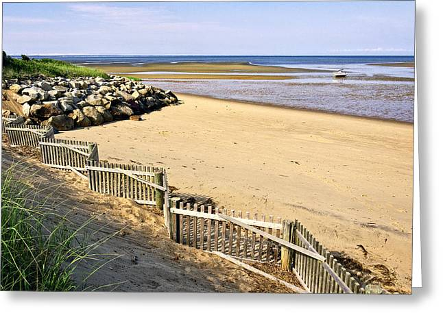 Cape Cod Bay Morning Greeting Card by Frank Winters