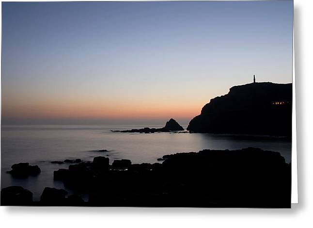 Cape Cornwall Greeting Cards - Cape Cornwall Greeting Card by Pete Hemington