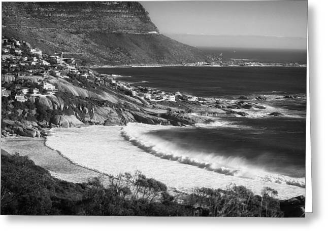 Cape Town Greeting Cards - Cape Town Coastline Greeting Card by Mountain Dreams