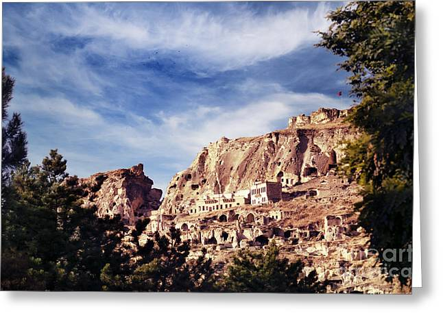 Famous Pyrography Greeting Cards - Cappadocia Greeting Card by Jelena Jovanovic
